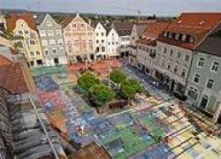 В Германии появилась самая необычная копия картины Кандинского