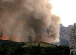 В Крыму начался сезон пожаров