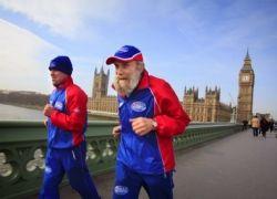 101-летний марафонец
