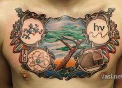 Татуировки для любителей науки
