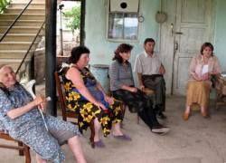 Более 800 жителей Южной Осетии разместили в Северной Осетии