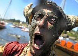 Фестиваль викингов в испанской деревне Катоира