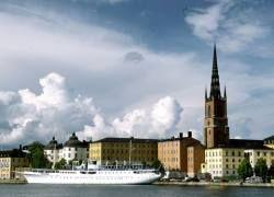 """В центре Стокгольма можно принять участие в \""""водяной войне\"""""""
