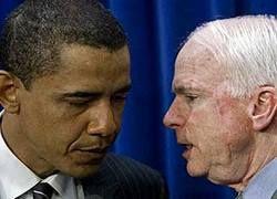 Джон Маккейн догнал Барака Обаму
