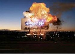 Компания прославилась рекламой, которая взрывается