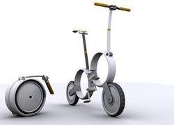 One - складывающийся городской велосипед