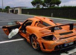 Gemballa Mirage GT стоимостью 725 000 евро разбился на треке