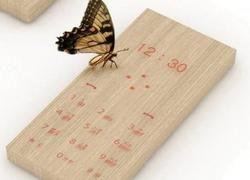 Maple Phone — концепт мобильного телефона в деревянном корпусе