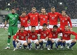 Сборная России по футболу вошла в первую десятку рейтинга ФИФА