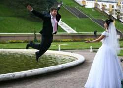Британские экстремалы доказали: браки заключаются на небесах
