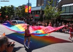 В Ванкувере прошел юбилейный гей-парад