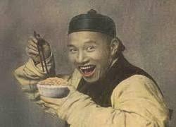 Китаец продает прохожим свой смех за три рубля