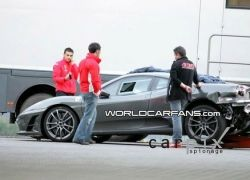 Михаэль Шумахер разбил на тестах прототип Ferrari F430