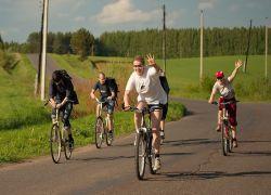 Студенты-велосипедисты в США привлекли внимание к экологии