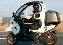 BMW готовит трехколесный скутер