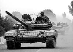 В Цхинвали вошли грузинские танки