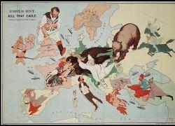 Сатирические карты Первой мировой войны