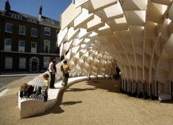 Экспонаты фестиваля архитектуры в Лондоне
