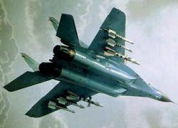 Российский самолет разбомбил аэродром в Марнеули