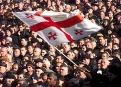 Грузинская оппозиция поддержала Саакашвили
