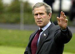 Буш призвал Россию перестать бомбить Грузию
