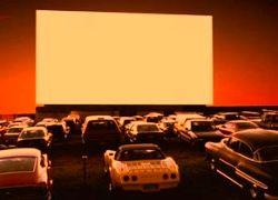 Автомобильный кинотеатр открыт в Москве