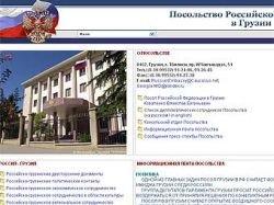 Грузия заблокировала сайты в доменной зоне .ru