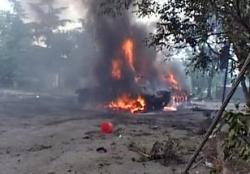 Грузинские танки и пехота вновь ворвались в Цхинвали