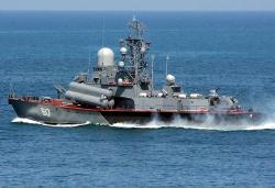 Россия потопила грузинский патрульный катер