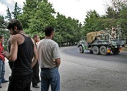 За сутки из Южной Осетии эвакуированы 489 человек