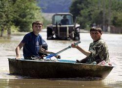 На западе Украины началось новое наводнение