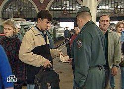 В Москве повышены меры безопасности у станций метро и вокзалов