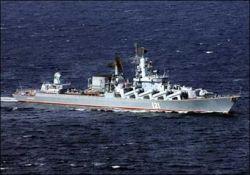 Российские корабли потопили грузинский ракетный катер
