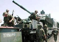 Россия ввела в Абхазию 9 тысяч военных и 350 бронемашин