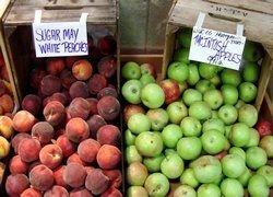 Почему яблоки хранятся дольше персиков?