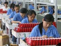 Промышленность Китая обгонит американскую в 2009 году