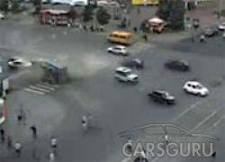 Авария с участием грузовика в Челябинске