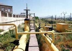 Россия сократила поставки газа в Армению через Грузию