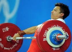 Китайский тяжелоатлет стал чемпионом Олимпиады-2008