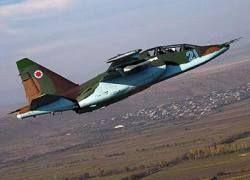 В Южной Осетии сбит грузинский Су-25