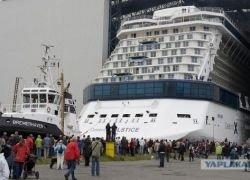 Kруизный лайнер Celebrity Solstice спущен на воду