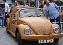 Деревянный тюнинг Volkswagen «Жук»