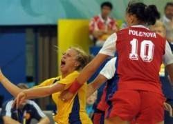 Женская сборная России по гандболу одержала первую победу в Китае