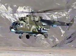 Грузинские вертолеты атакуют район Цхинвали