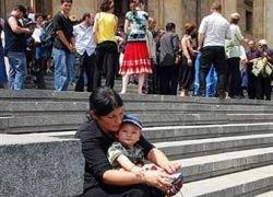 Михаил Саакашвили пообещал вернуть беженцев в Южную Осетию
