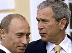 Путин и Буш договорились обменять Грузию и Украину на Иран?
