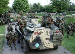 Российские войска сосредоточились на подступах к Тбилиси