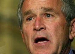 Буш выступил с критикой в адрес России из-за конфликта с Грузией