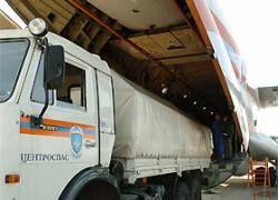 Около 120 тонн продовольствия будет ежедневно поступать в Цхинвали