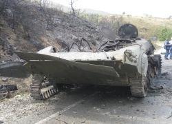 Фотоотчет из зоны военных действий